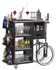 portable bar cocktail service