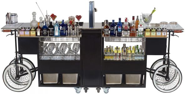 drinks trolley cocktails